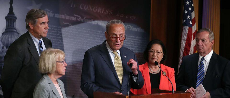 "Senate Democratic Leader Schumer And Senate Dems Introduce The ""Stop Cruelty To Migrant Children Act"""