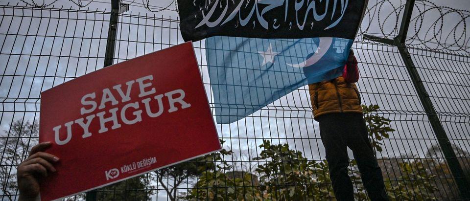 TURKEY-CHINA-UIGHUR-RIGHTS-POLITICS-DEMO
