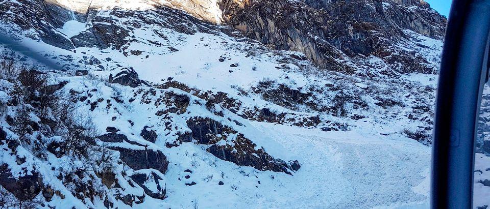 TOPSHOT-NEPAL-SKOREA-MISSING-TREKKERS-TOURISM