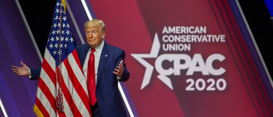Trump To Give Speech At CPAC In First Major Post-Inauguration Appearance