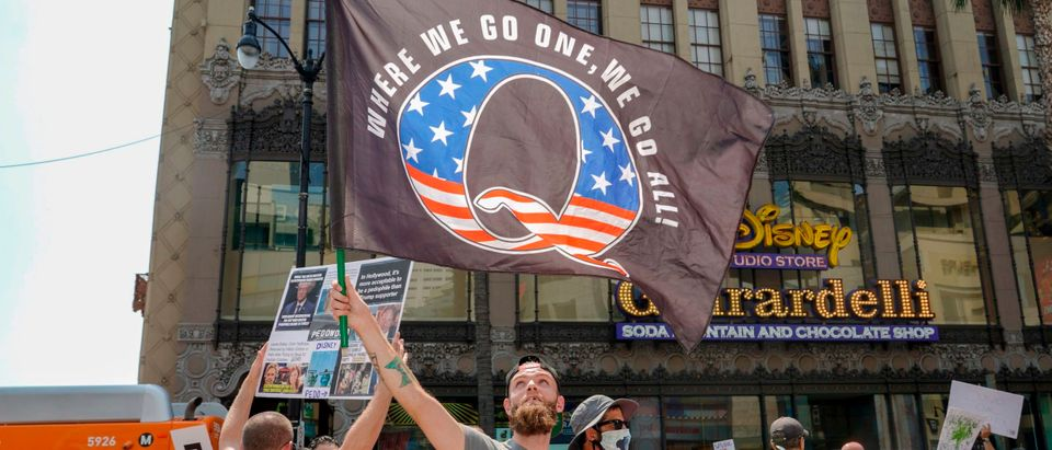 US-POLITICS-CONSPIRACY-QANON-PROTEST