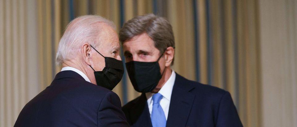 President Joe Biden And John Kerry