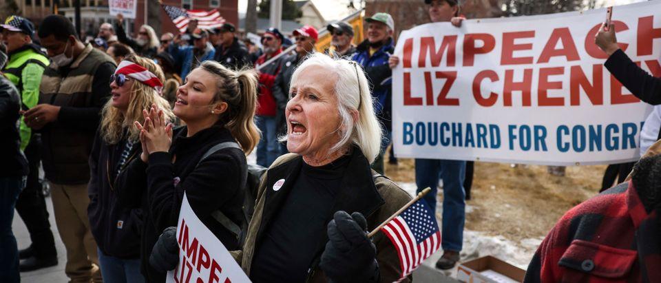 Liz Cheney Censured By Wyoming GOP For Trump Impeachment Vote