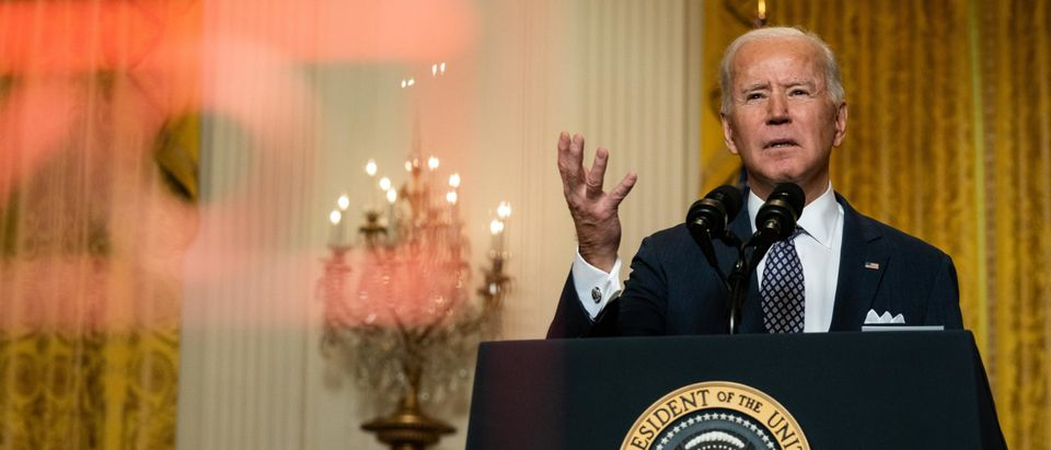 President Biden Delivers Remarks To Virtual Munich Security Conference