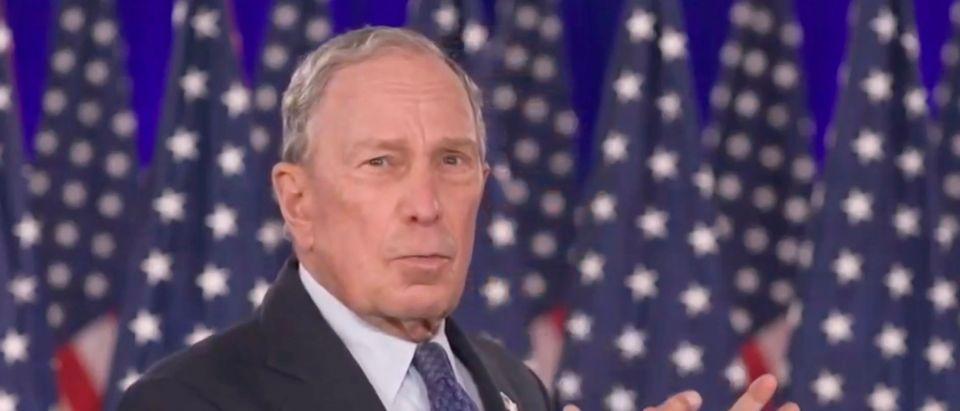 Michael Bloomberg At DNC