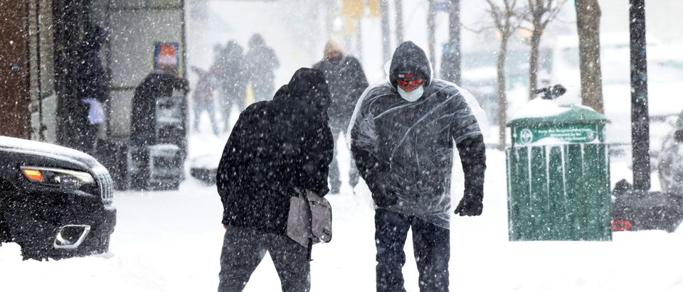 Nor'easter Storm Brings Heavy Snowfall To New York City