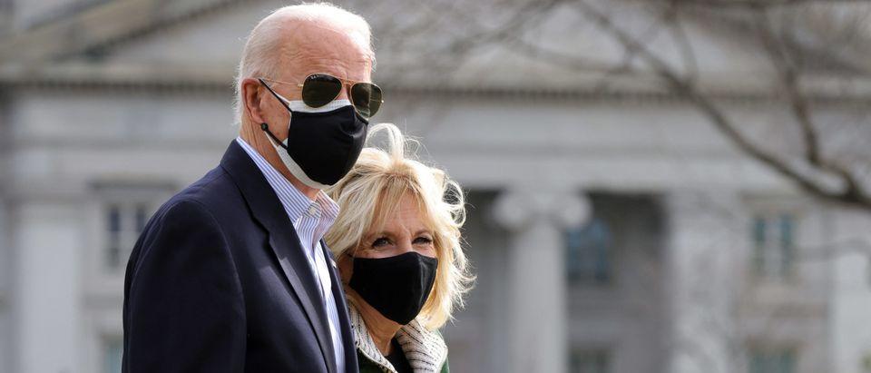 President Biden Departs White House For Visit To Houston