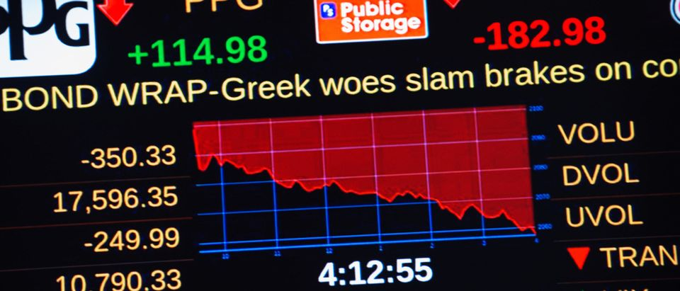 Dow Plunges Over 300 Points As Greek Debt Crisis Worsens