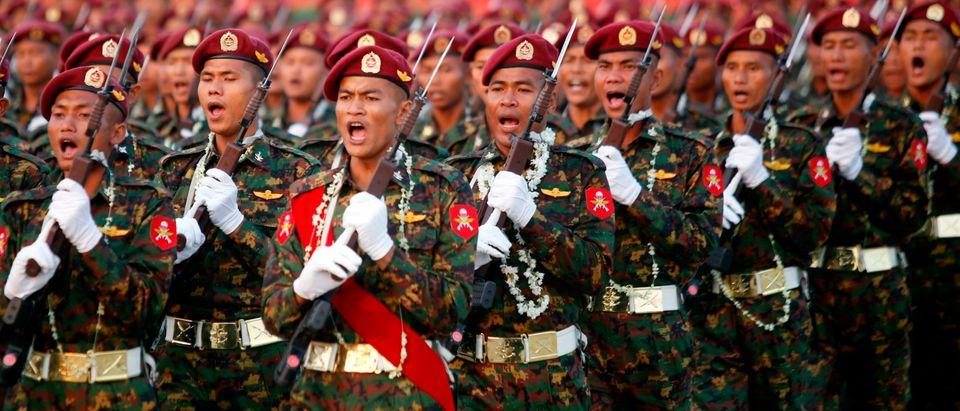 MYANMAR-DEFENCE