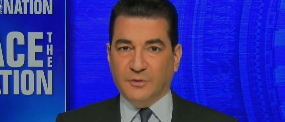 Gottlieb says vaccines are preventing transmission (CBS screengrab)
