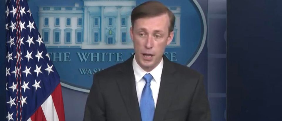 National Security Adviser Jake Sullivan. (Screenshot/YouTube/Washington Post)