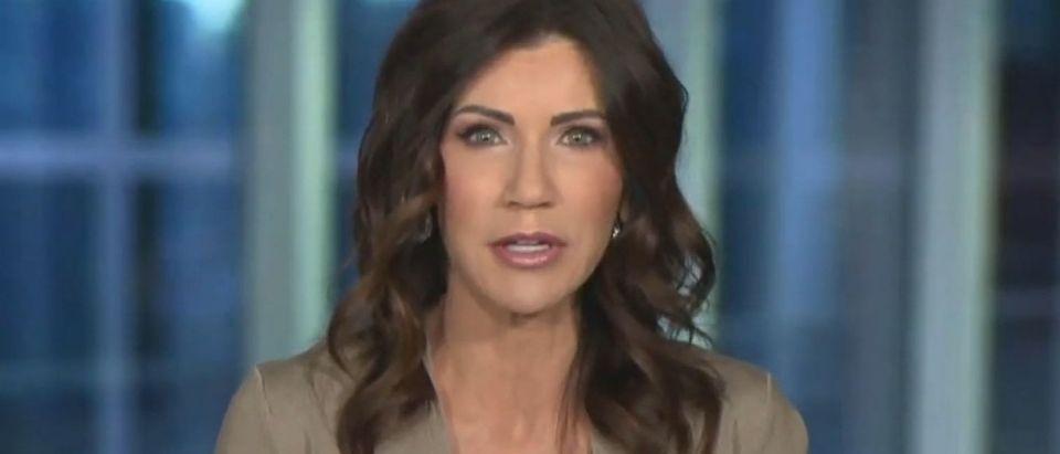 Kristi Noem blasts COVID bill (Fox News screengrab)