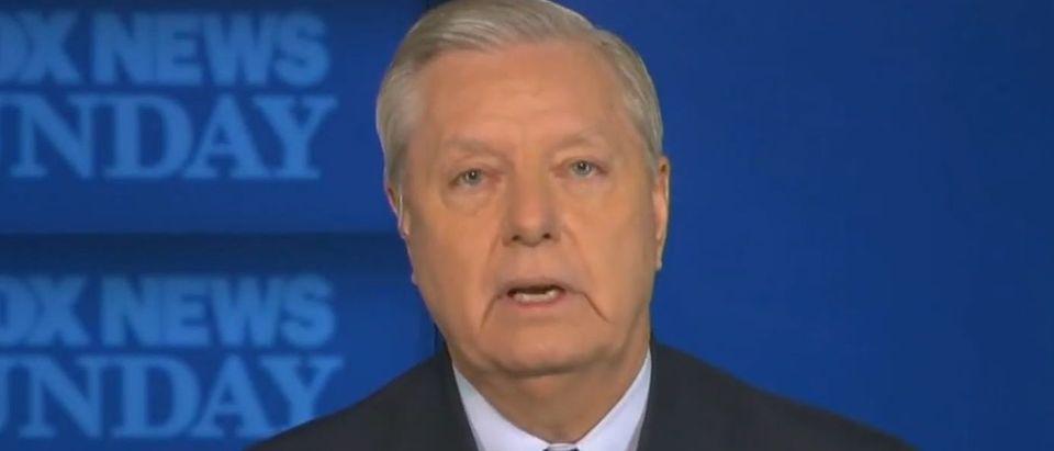 Lindsey Graham blasts McConnell Speech (Fox News screengrab)