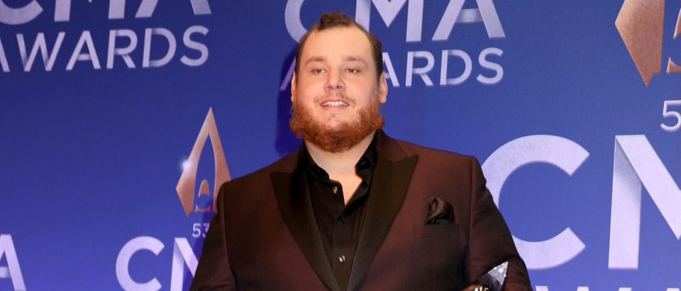 Country singer Luke Combs at the CMA Awards