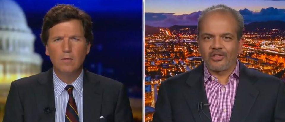 Neil Patel and Tucker Carson discuss the minimum wage (Fox News screengrab)