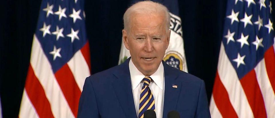 President Joe Biden. (Screenshot/Youtube/Fox Business)