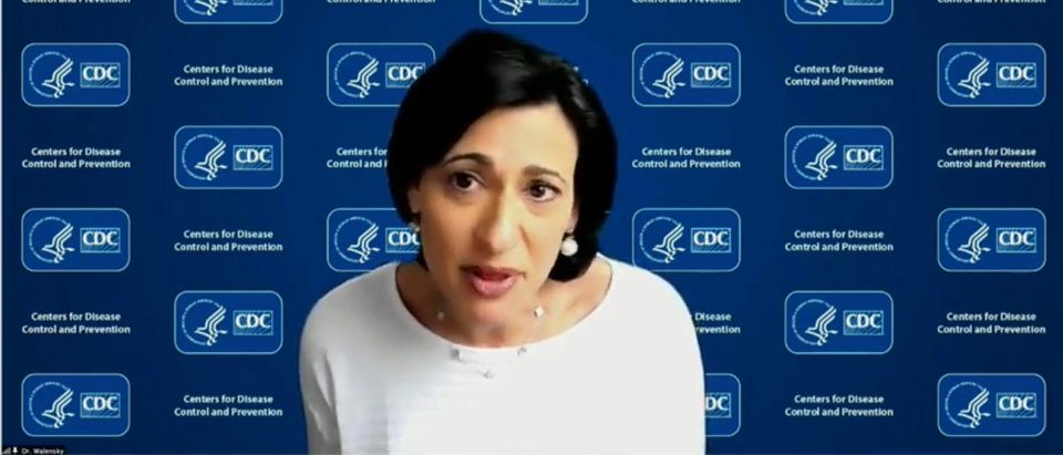 CDC Director Rochelle Walensky. (Screenshot/YouTube/White House)