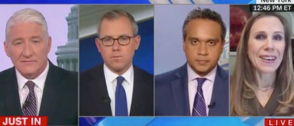 John King, Jeff Zeleny, Manu Raju, and Jennifer Rodgers (Screenshot/CNN)