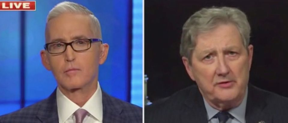 "Trey Gowdy speaks Joh Kennedy on ""Fox News Primetime."" Screenshot/Fox News"