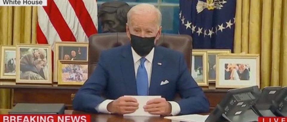 President Joe Biden (Screenshot/CNN)