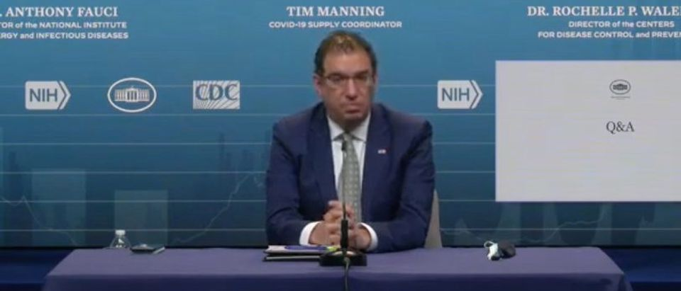Andy Slavitt (screenshot, White House YouTube)