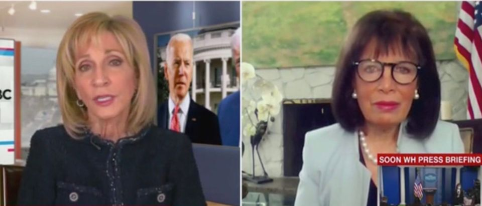 Andrea Mitchell and Rep. Jackie Speier (Screenshot/MSNBC)