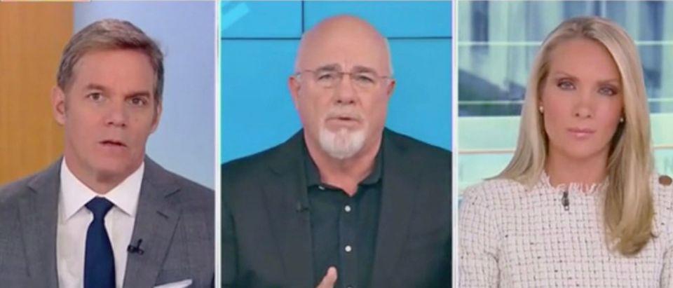 Bill Hemmer, Dave Ramsey, and Dana Perino (Screenshot/Fox News)