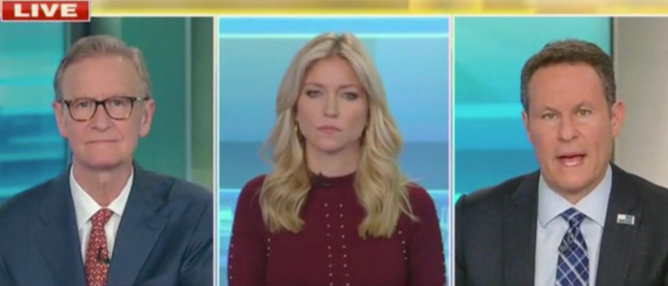 Steve Doocy, Ainsley Earhardt, and Brian Kilmeade (Screenshot/Fox News)
