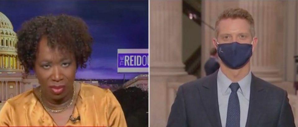 Joy Reid and Garrett Haake (Screenshot/MSNBC)