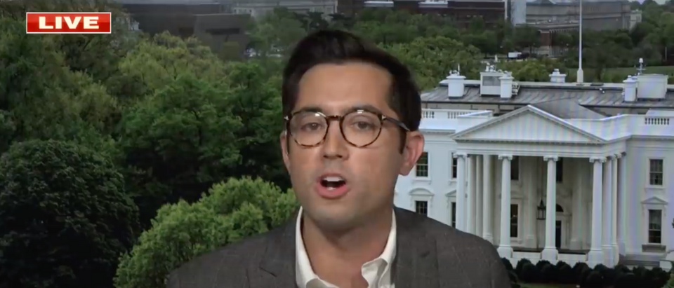 TJ Ducklo has been suspended without pay for one week after allegations that he tried to intimidate a Politico reporter. (Screenshot YouTube Fox News, https://www.youtube.com/watch?v=twv7ey6_EKg)