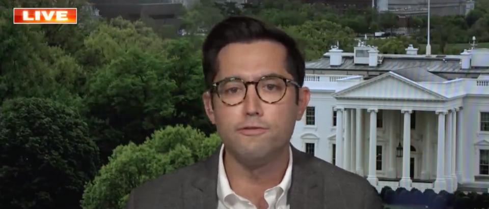 TJ Ducklo reigned from his position as White House deputy press secretary on Saturday. (Screenshot YouTube, Fox News, https://www.youtube.com/watch?v=twv7ey6_EKg)