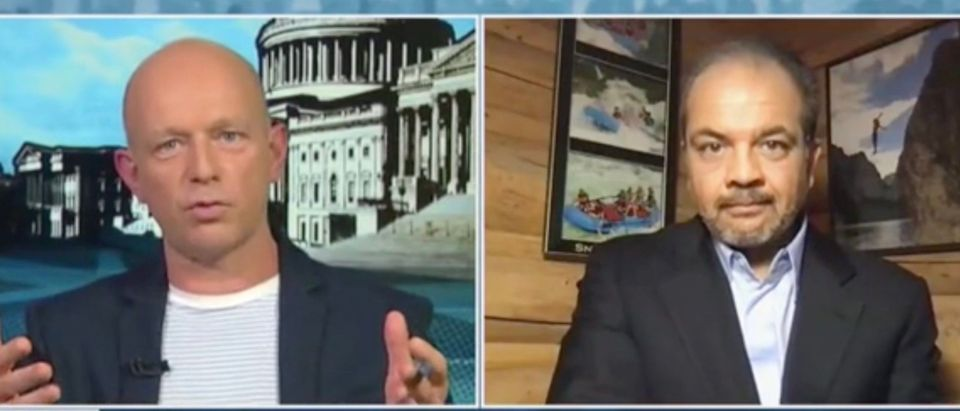 Steve Hilton and Neil Patel (Screenshot/Fox News)