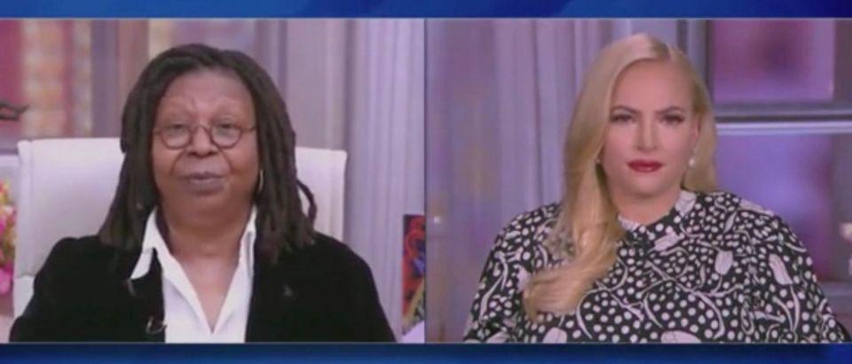 Whoopi Goldberg and Meghan McCain (Screenshot/ABC)