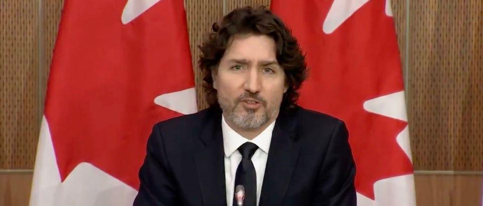 PM Justin Trudeau (Screenshot/CTV)