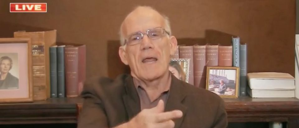"Victor Davis Hanson appears on ""America's Newsroom."" Screenshot/Fox News"