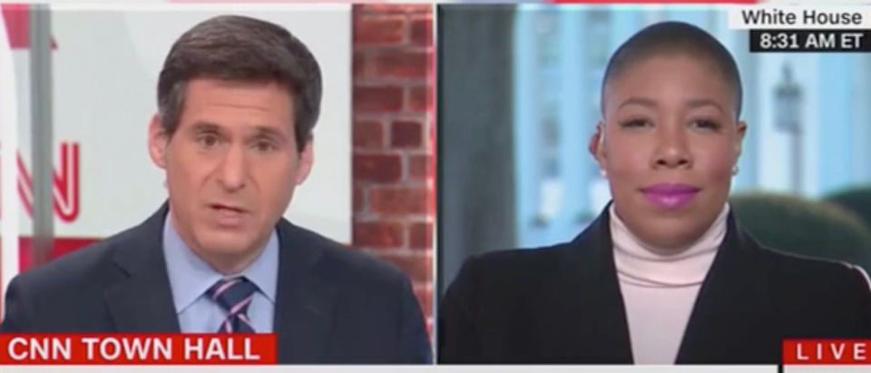John Berman and Symone Sanders (Screenshot/CNN)