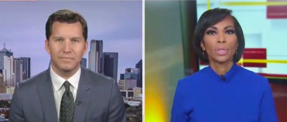Will Cain and Harris Faulkner (Screenshot/Fox News)