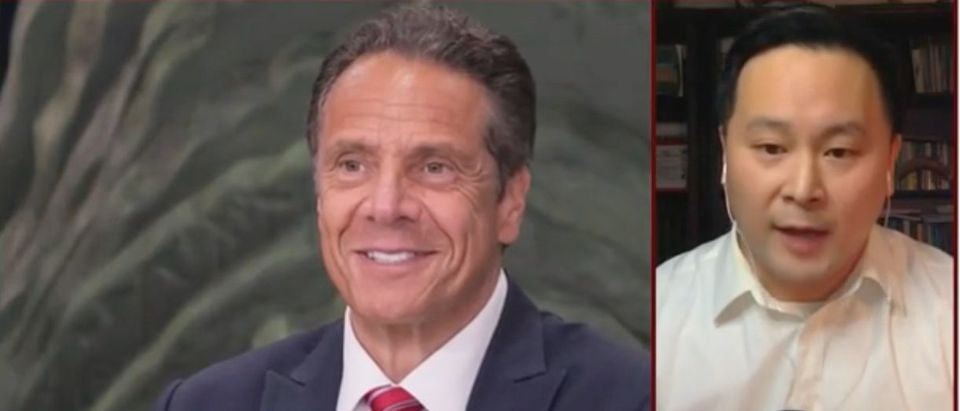 "New York Assemblyman Ron Kim appears on ""Morning Joe."" Screenshot/MSNBC"