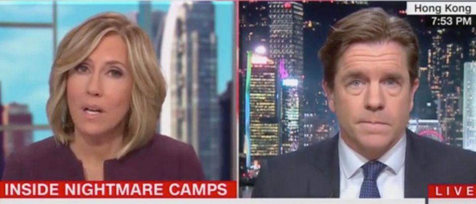 Alisyn Camerota and Ivan Watson (Screenshot/CNN)