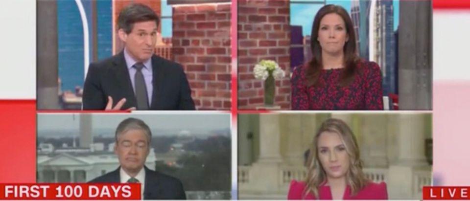 John Berman, Erica Hill, Lauren Fox, and John Harwood (Screenshot/CNN)