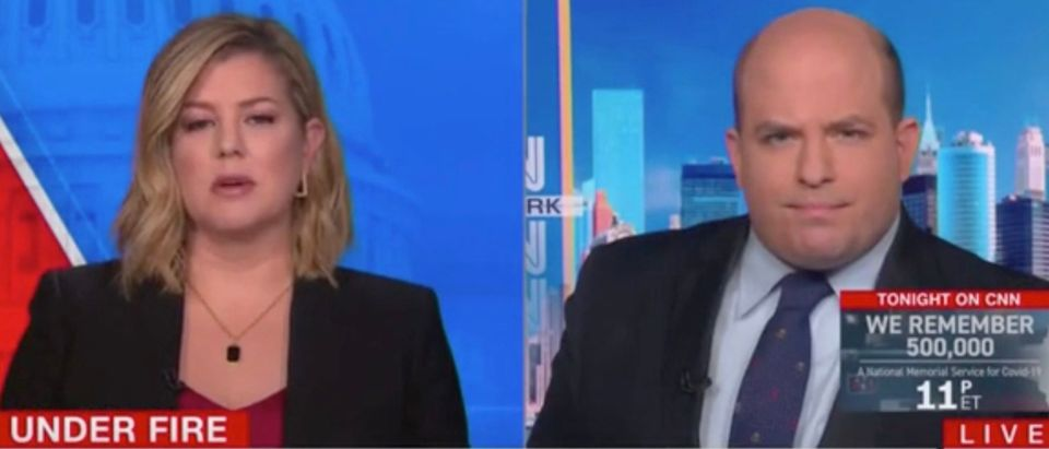 Brianna Keilar and Brian Stelter (Screenshot/CNN)