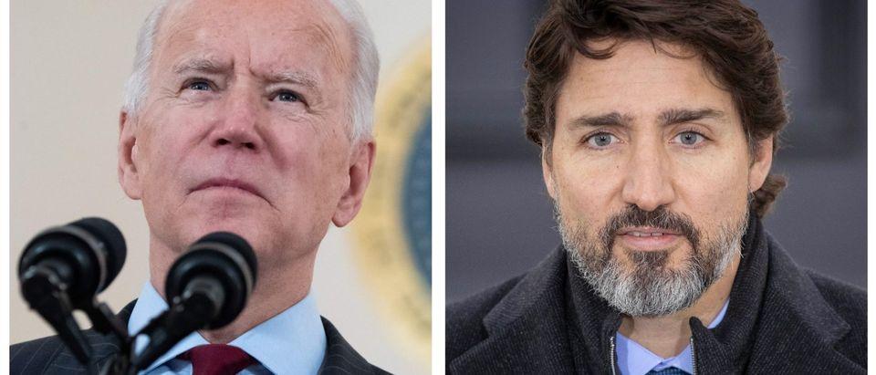 Joe Biden, Justin Trudeau (Getty Images)