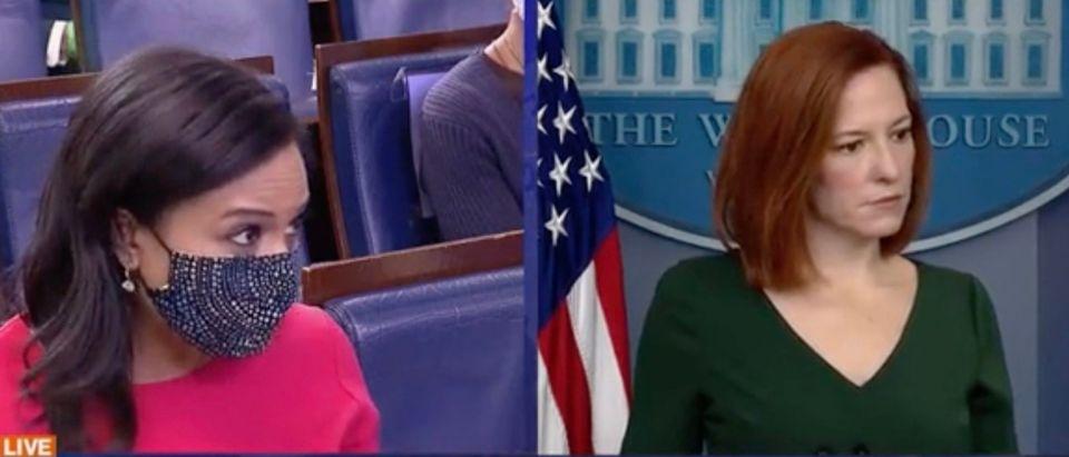 Kristen Welker and Jen Psaki (Screenshot/ABC News)