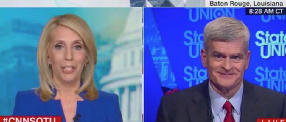 Dana Bash and Sen. Bill Cassidy (Screenshot/CNN)