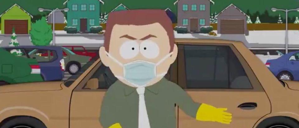 South Park (Credit: Screenshot/Twitter Video https://twitter.com/SouthPark/status/1365006209212952578)