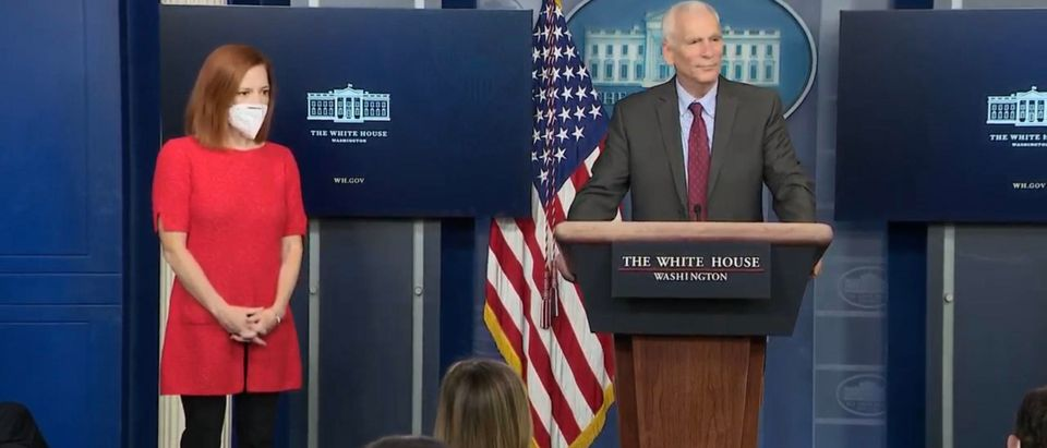 White House press briefing. (Screenshot/YouTube/Fox Business)