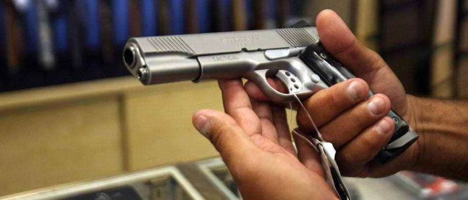 gun sales capitol riots Getty Susan Rice Joe Biden