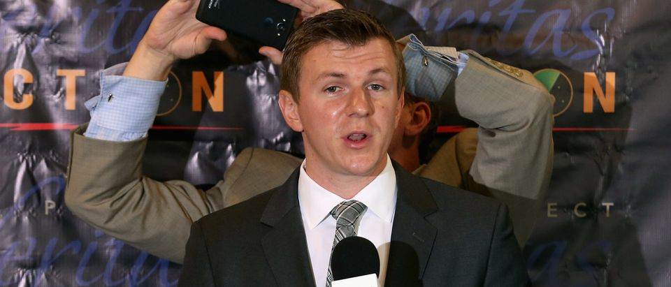 Conservative Activists James O'Keefe Releases Undercover Video Regarding Hillary Clinton's Campaign