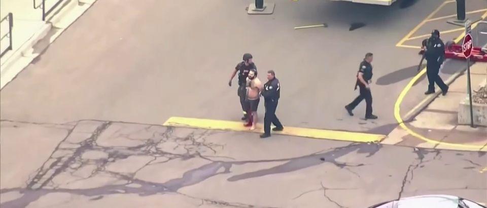 Ahmad Alissa arrest. Screenshot/YouTube