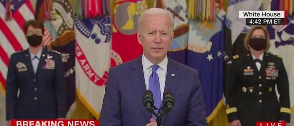 Biden forgets name of defense secretary (CNN screengrab)